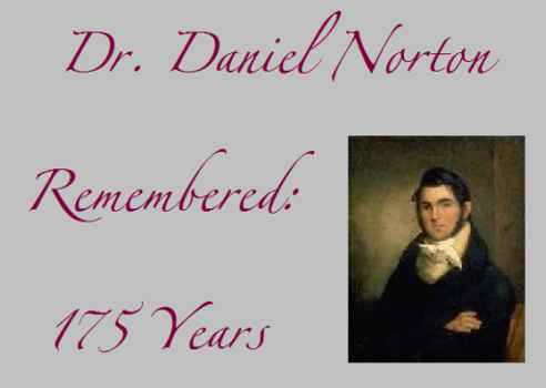 Daniel Norborne Norton Remembered