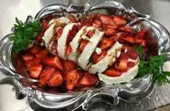 VIP Club Party Dessert Plate