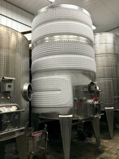 Cold Stabilizing our New White Wines