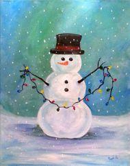 December Paint & Sip