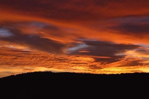 Sunrise Over the Bull Run Mountains
