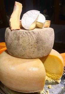 Stack-o-Cheese... Yumm!