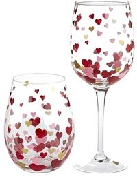 Painted Wineglass