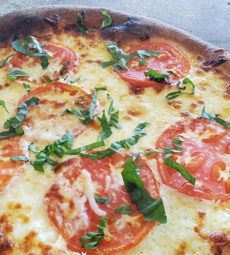 Fresh Tomato & Basil Pizza