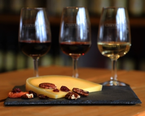 3 Wines with Cheese Yummy!