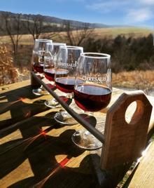 Wine & Winter Vistas!