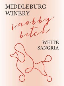 Snobby Bitch White Sangria Image