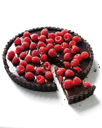 Chocolate Raspberry Tart - 2015 Sarah's Patio Red