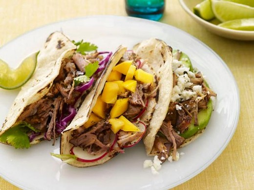 Slow-cooker Pork Tacos - 2015 Sarah's Patio White