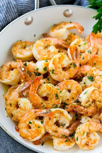 Shrimp with Garlic Butter - 2016 Albariño