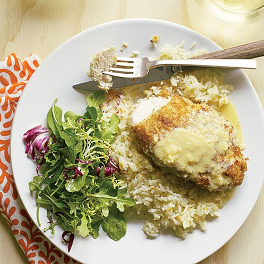 Macadamia Chicken with Orange-Ginger Sauce and Coconut Pilaf - 2016 Viognier